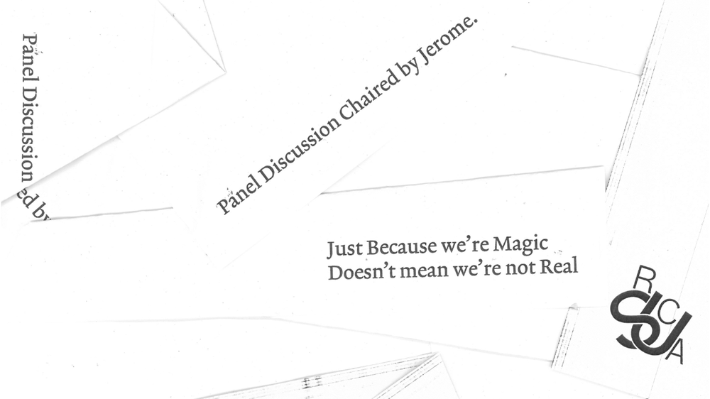 Just Because We're Magic