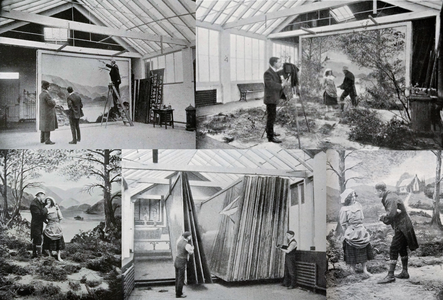 Postcard producer Bamforth's production process