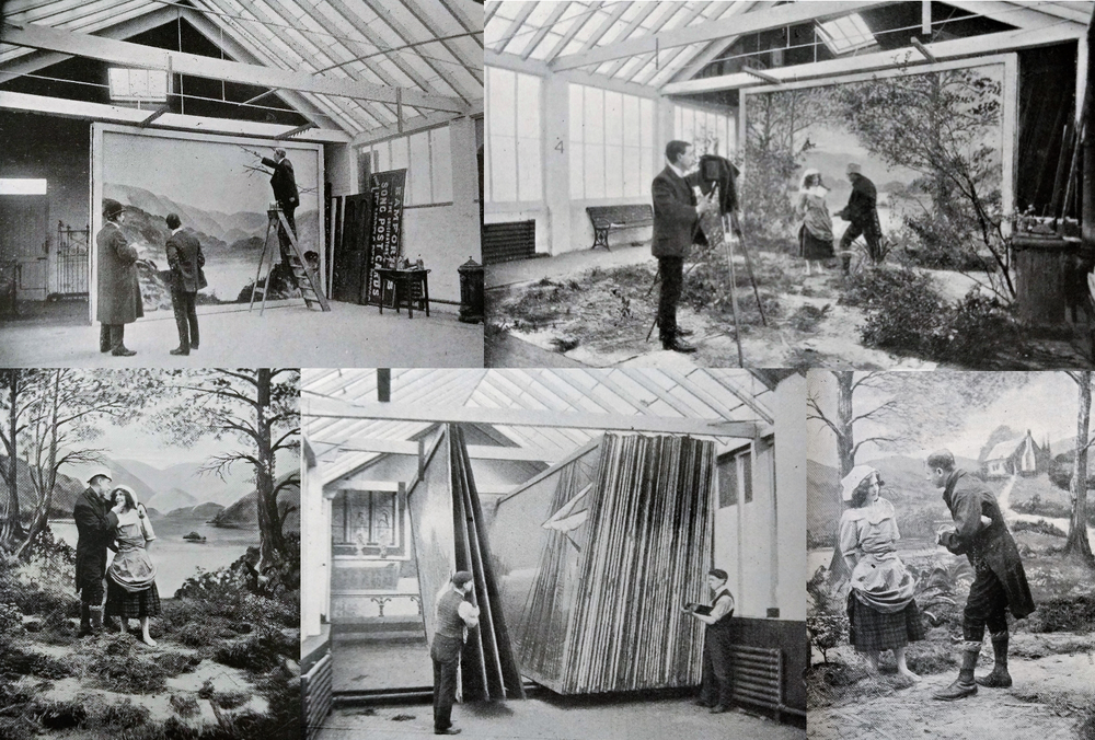 Postcard producer Bamforth's production process