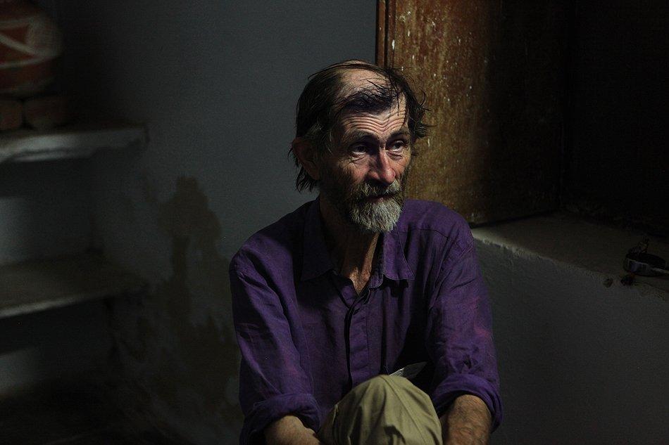 Caron Rawnsley, a veteran volunteer at the Barefoot College