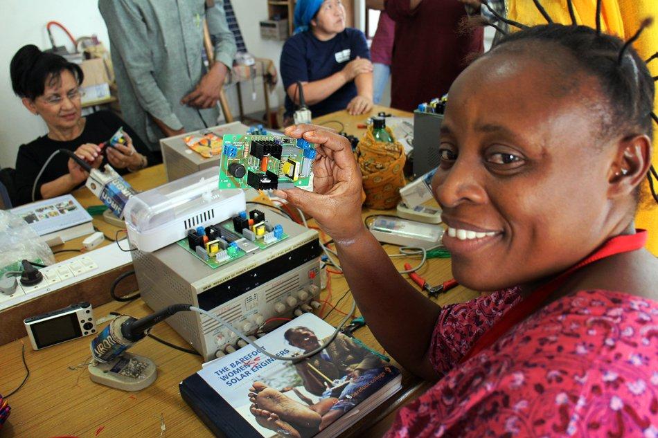 Mrs. Mudai from Congo
