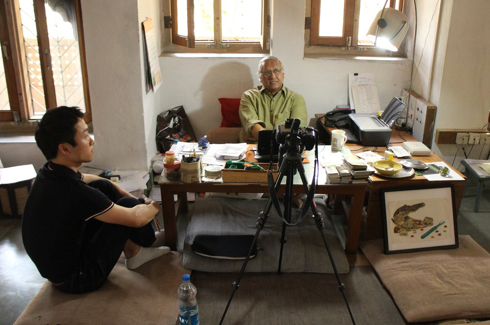 Interview_ Bunker Roy, the founder of the Barefoot College, Tiloniya, India