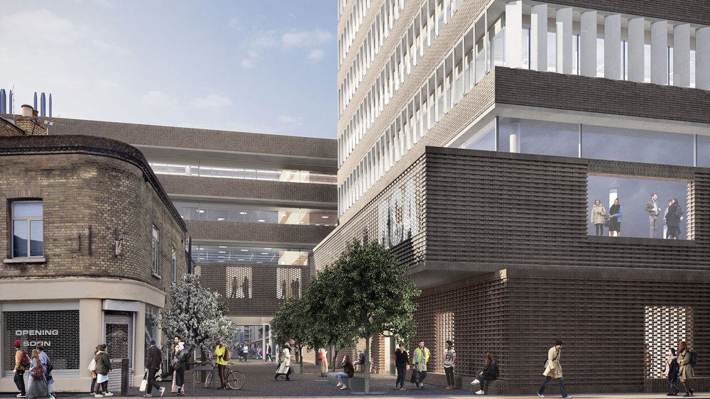 Proposed Design for Royal College of Art Battersea South Campus