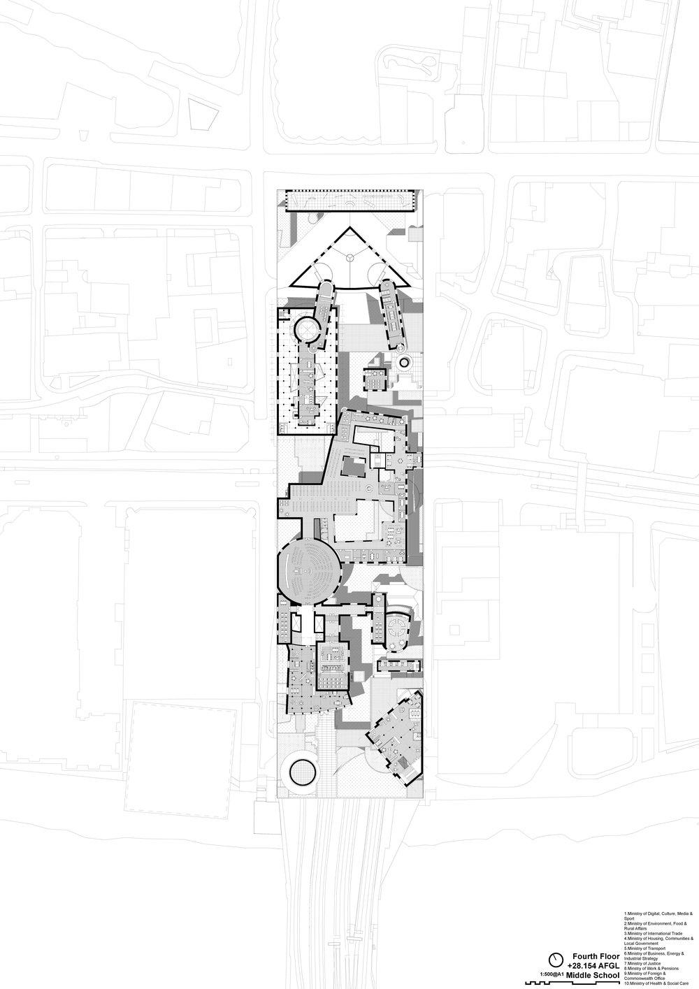 Cannon Street School - Fourth Floor - Middle School
