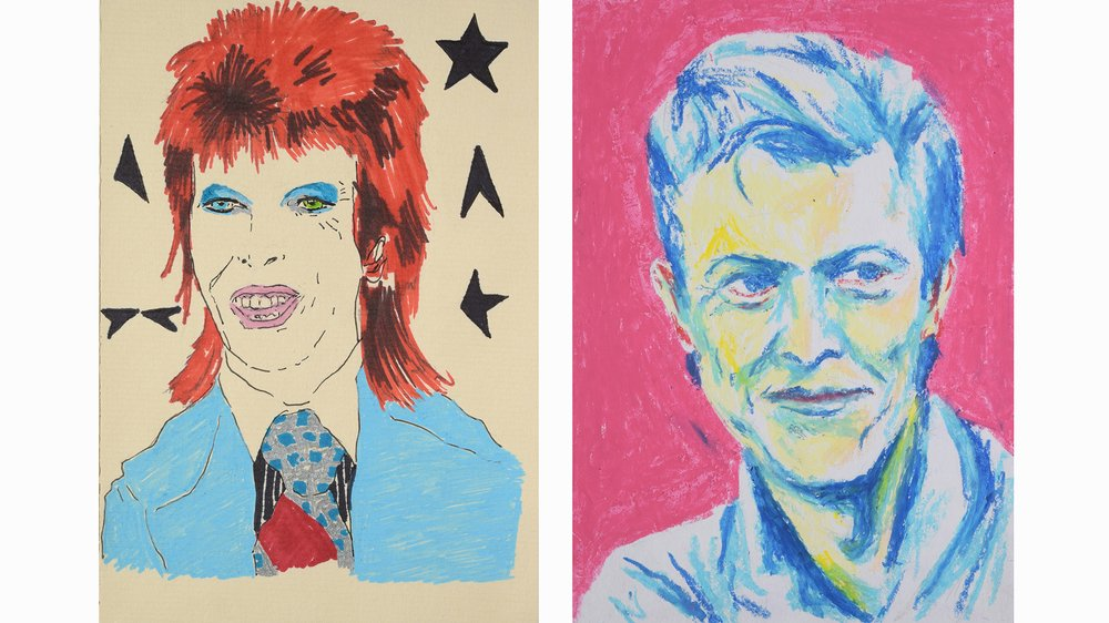 RCA Secret 2016, David Bowie inspired postcards