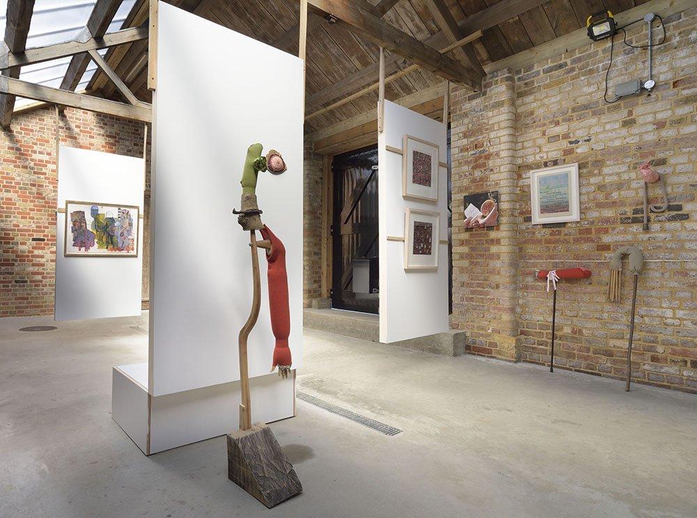 Brocki. Blackwater Polytechnic, 2015. Exhibiting alongside: Ben Coode-Adams, Simon Collins, Dale Devereux Barker, Sara Impey, The Paintbox (Simon Emery) and Typoretum (Justin Knopp).