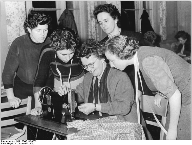 'Nähzirkel des DFD für Geraer Hausfrauen'