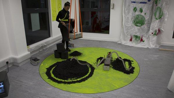 Arts & Humanities Work-in-progress 2018: Contemporary Art Practice, Farvash Razavi