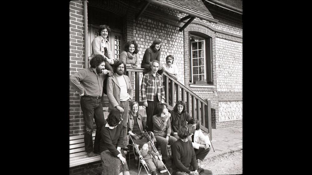 CERFI meeting in Etretat, 1970 (unknown author)