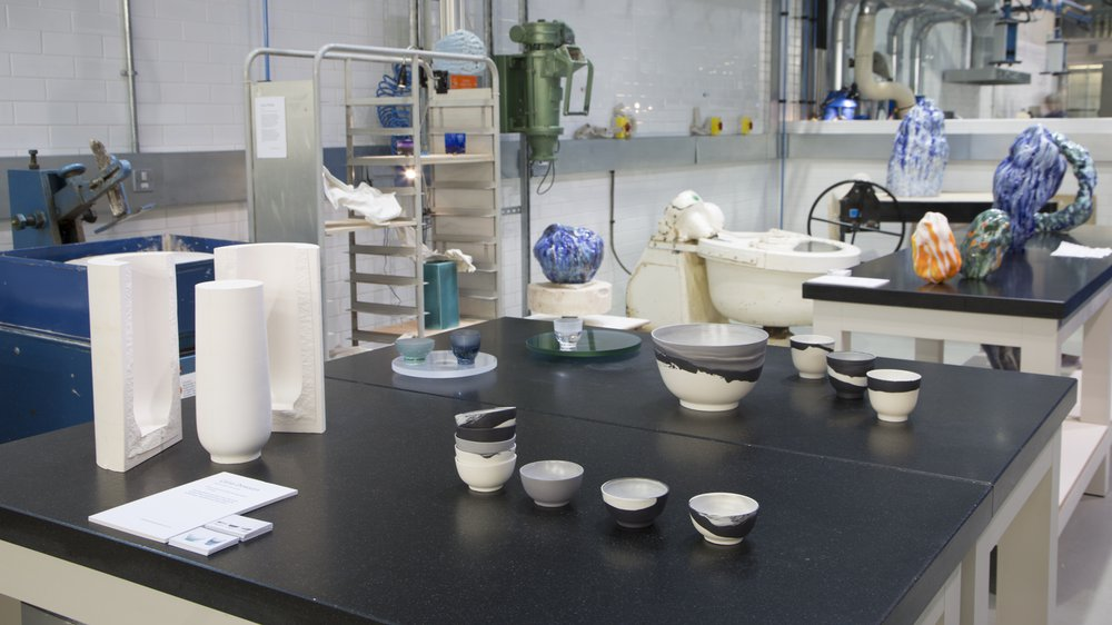 Arts & Humanities Work-in-progress 2018: Ceramics & Glass, Celia Dawson and Emily Stapleton Jeffries