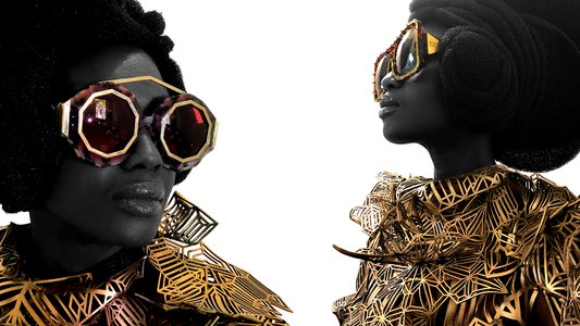 """Mumbi Le Deux"" & ""Ndomé"" Eye Wear"