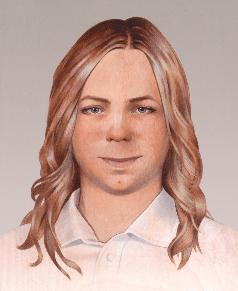 Final Painting of Chelsea Manning