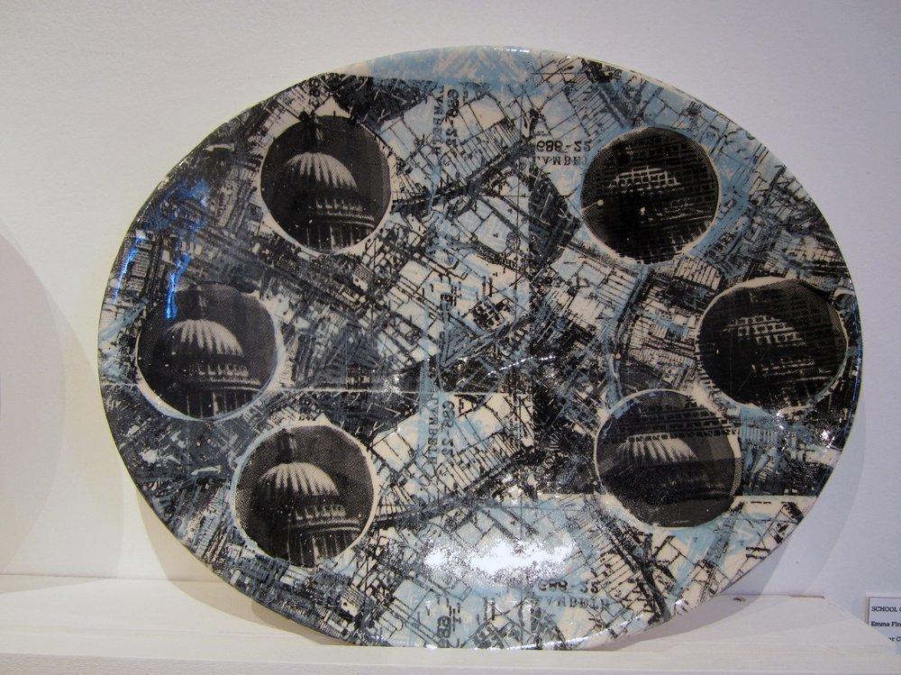 Commemorative Plate. Southwalk
