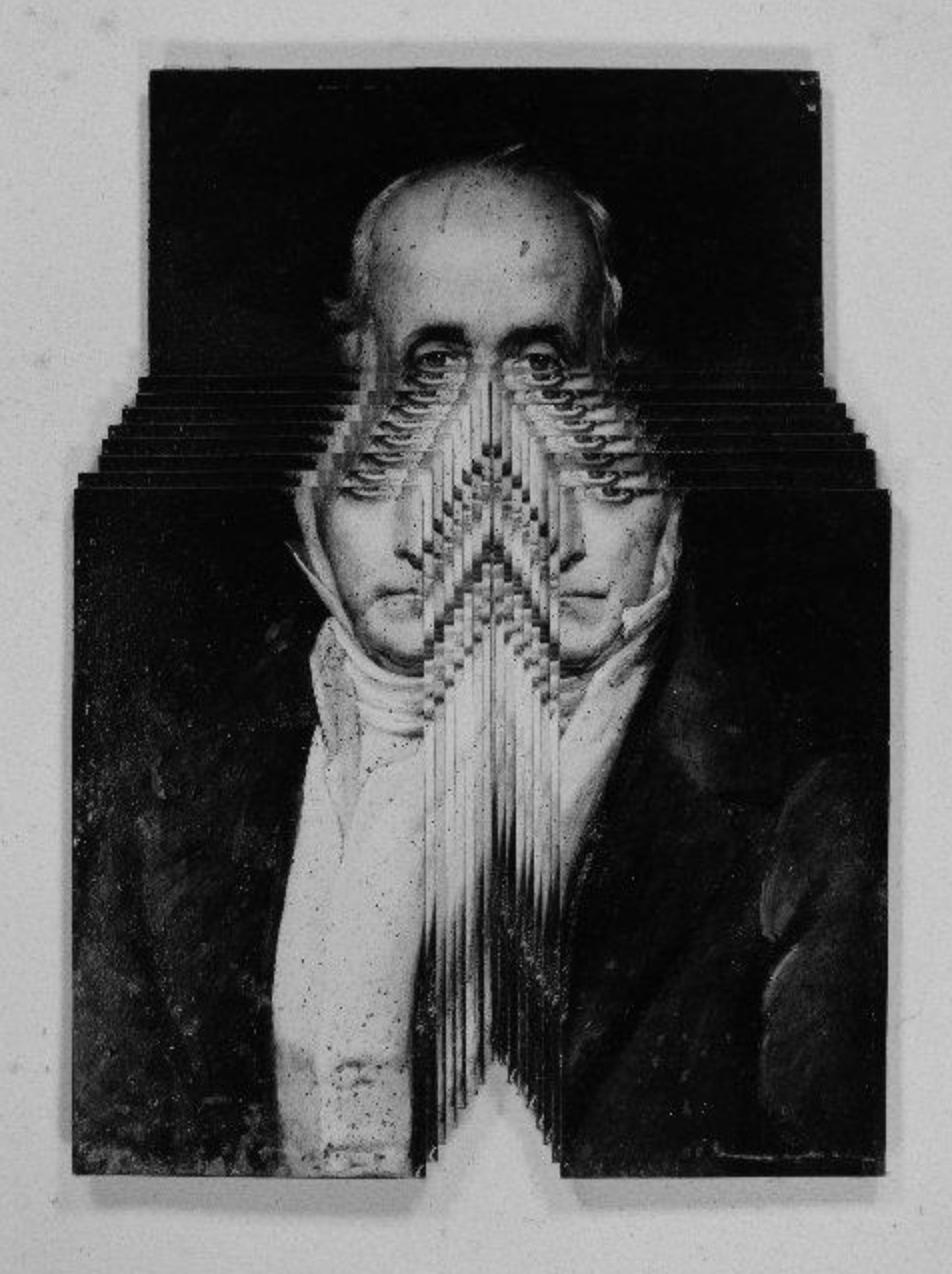 Écartelage, Quatrième Portrait Harmonique de Charles Fourier (courtesy of Jérôme Faucheux)