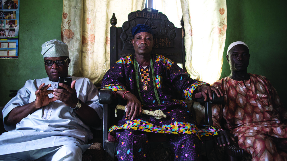 Cultural Understanding- Interview with traditional head of Lagos