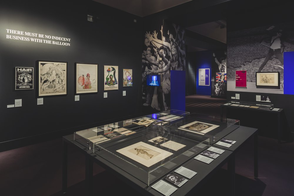 Censored: Stage, Screen, Society at 50 (2018) Victoria and Albert Museum, London. 10 July 2018 – 21 Jan 2019.