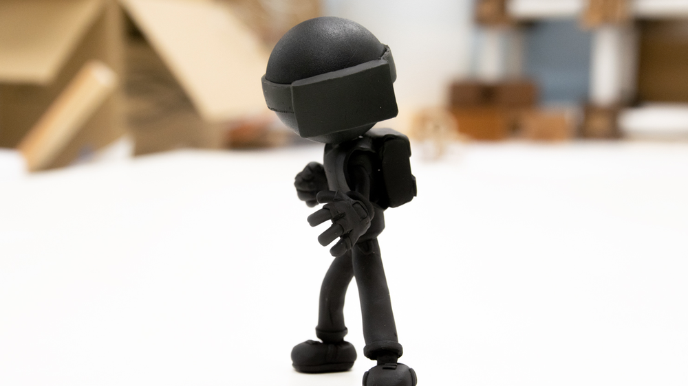 AR_CADE Game Character Model