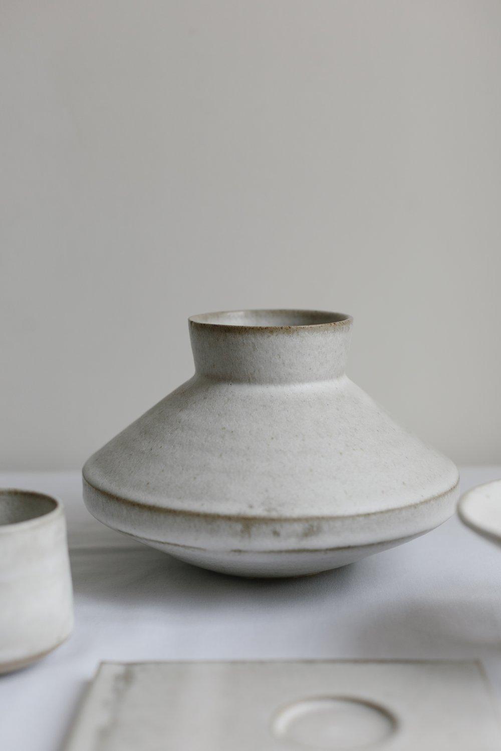 Oyster Shell Vase