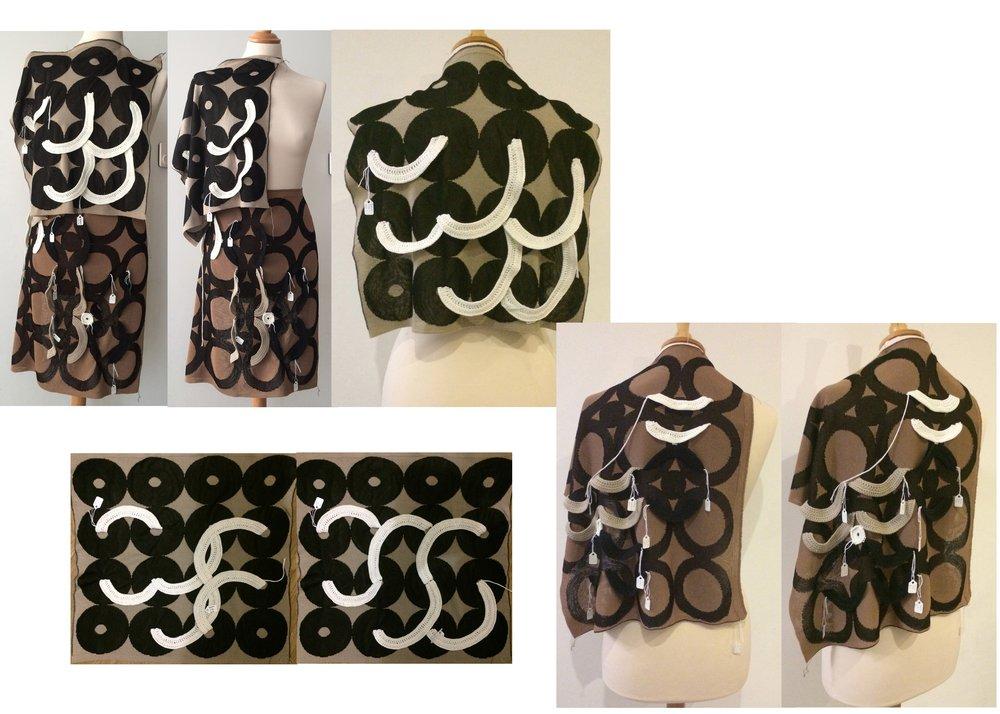 Crochet Jacquard Fabric Development