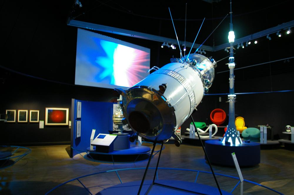 Vostok model displayed at Cold War Modern, V&A (2008)