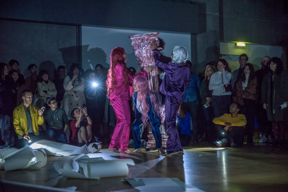 Performance by Department for International Dance Development (DIDD), The Unexpected Beautiful Phrase, Nottingham Contemporary, 2019