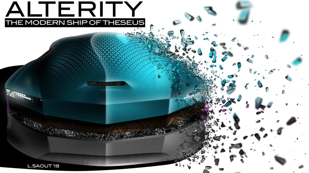ALTERITY 2035 or The Modern Ship of Theseus (Cover)