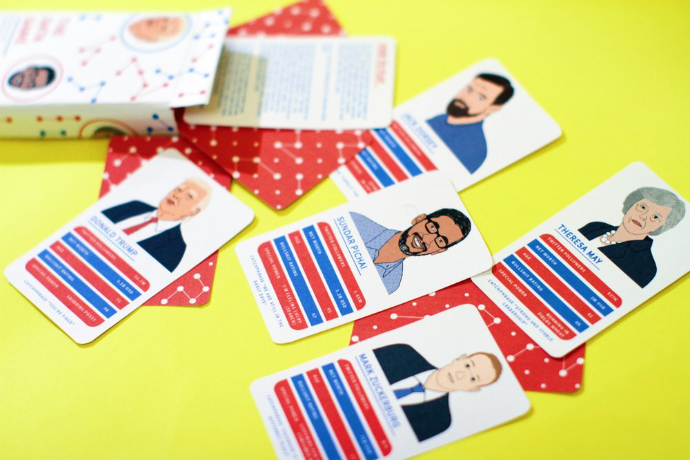 The Data Game: Top Trumps