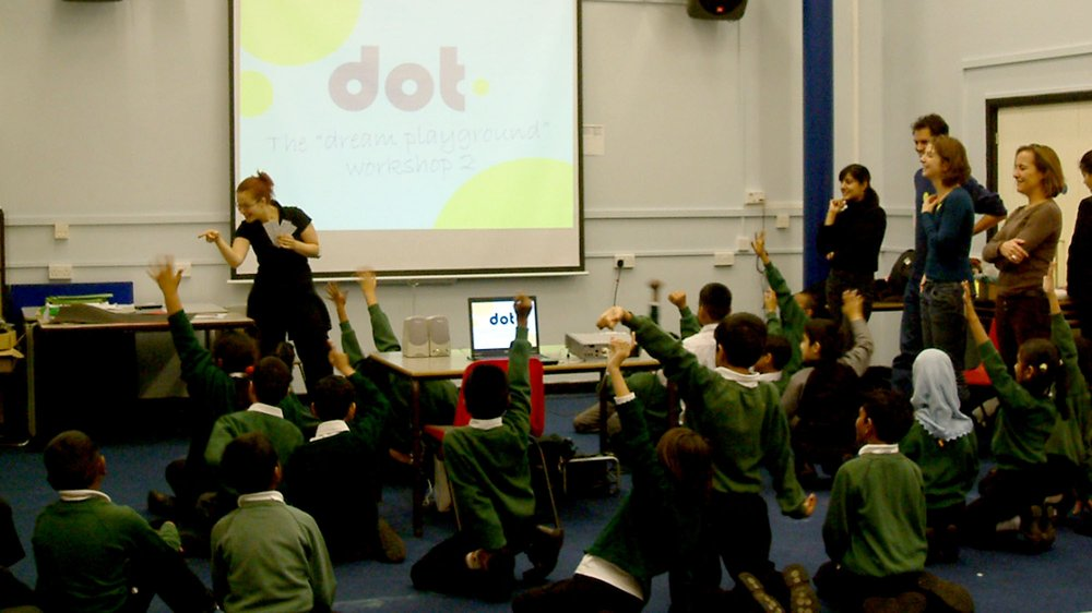 Dot - research phase in a school