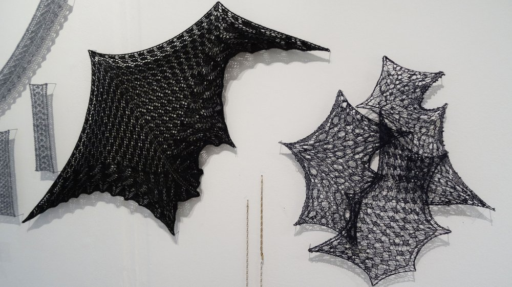 School of Material Work-in-progress Show 2015, work by Textiles student Emily Trendell