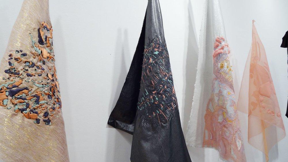 School of Material Work-in-progress Show 2015, work by Bryony Bushe