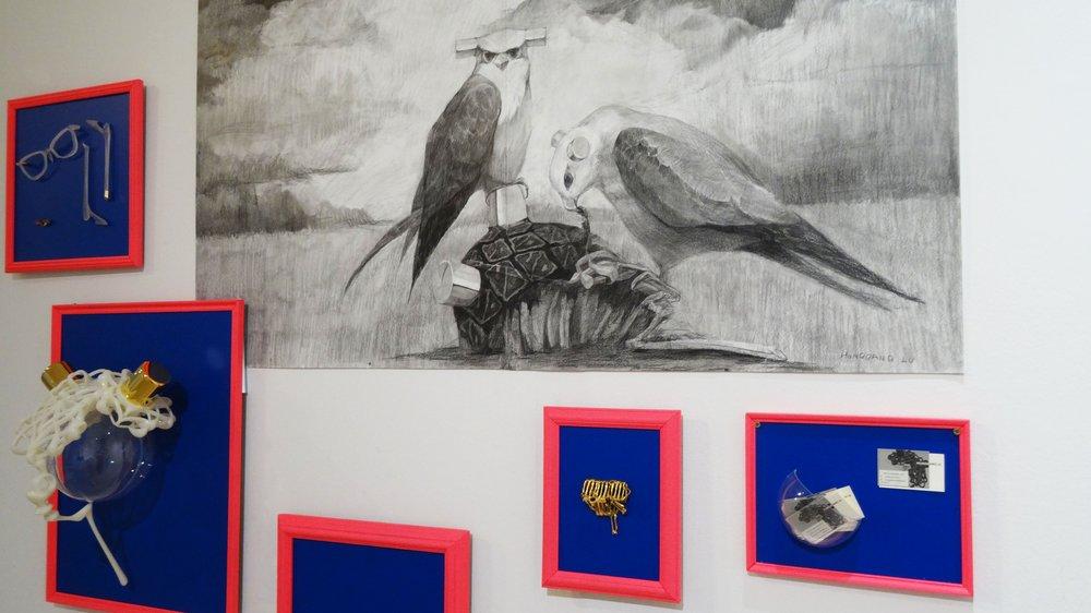 School of Material Work-in-progress Show 2015, work by second-year Jewellery & Metal student Honggang Lu