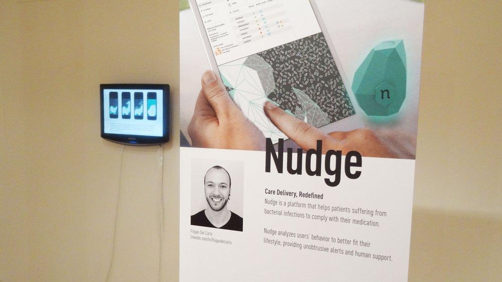 'Nudge' by Global Innovation Design student Filippo del Carlo