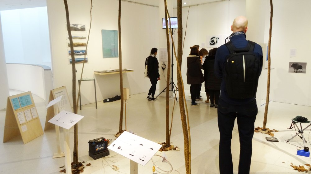 Design Interactions students show work at the 2015 School of Design Work-in-progress Show