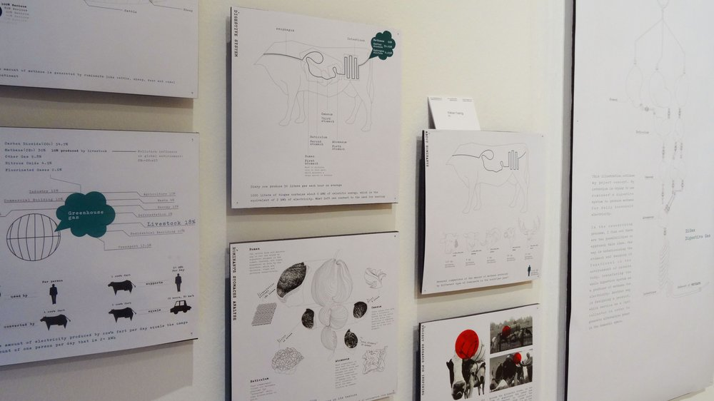 'DiGas' by Design Interactions student Yi-Wen Tsang at the 2015 School of Design Work-in-progress Show