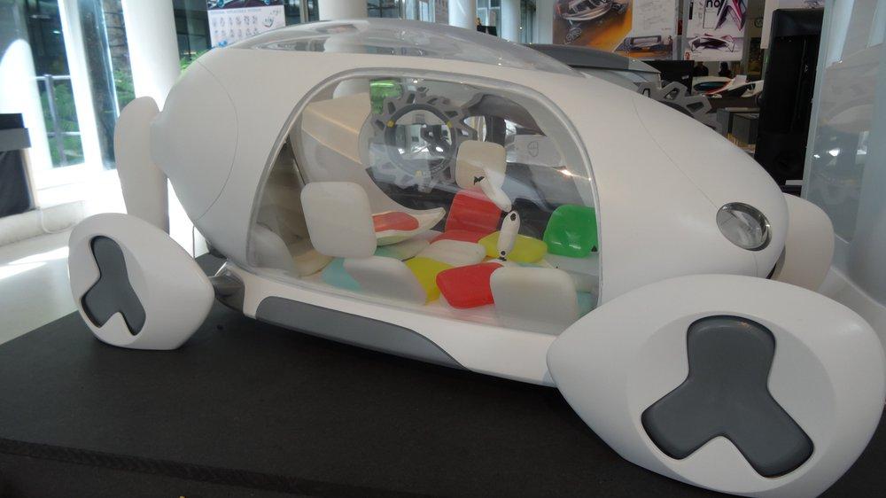 Show 2015, Yibo Wu, Vehicle Design