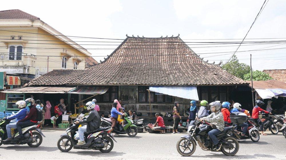 Street Vendors in Indonesia