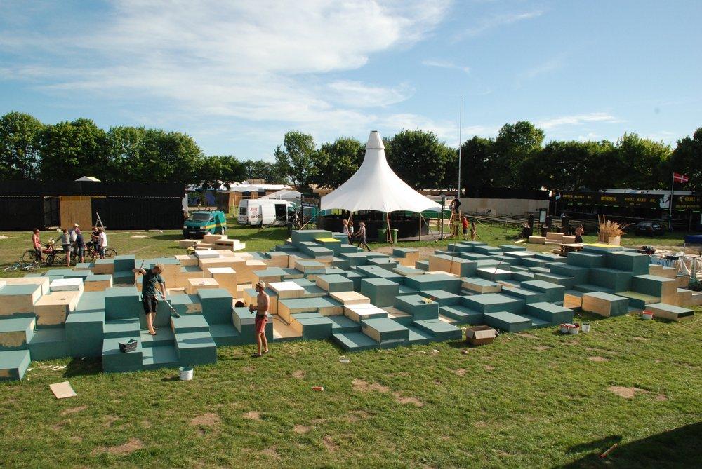 BIFROST, Roskilde Festival 2011, Råderum - mobilt kontor for samtidskunst