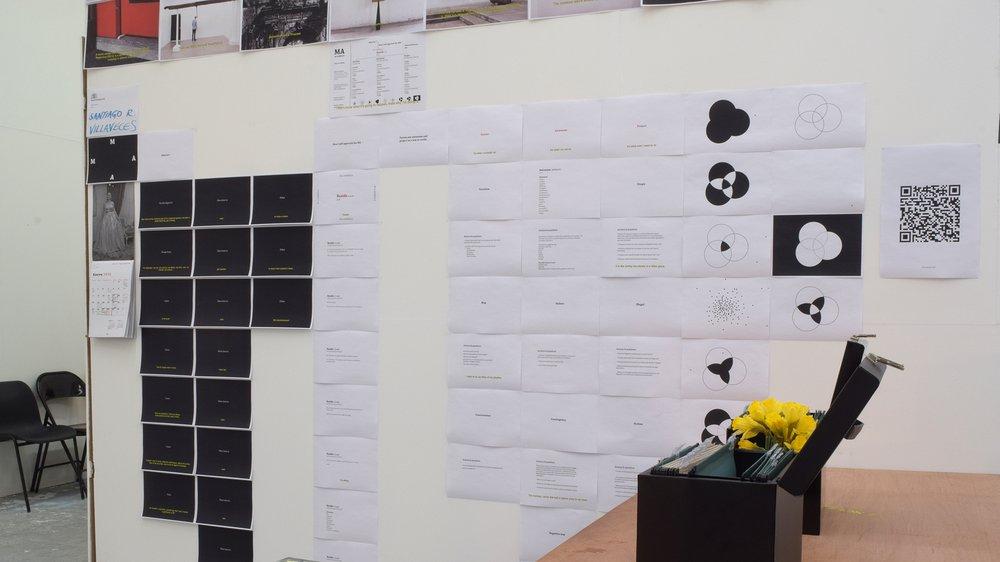 School of Fine Art Work-in-progress Show: Santiago Villaveces (Sculpture)