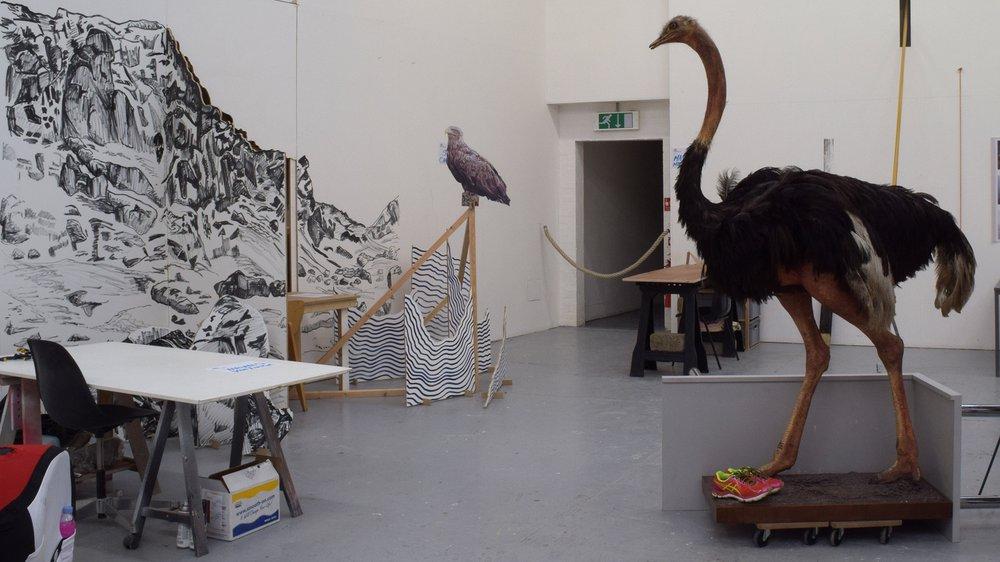 School of Fine Art Work-in-progress Show: Sculpture