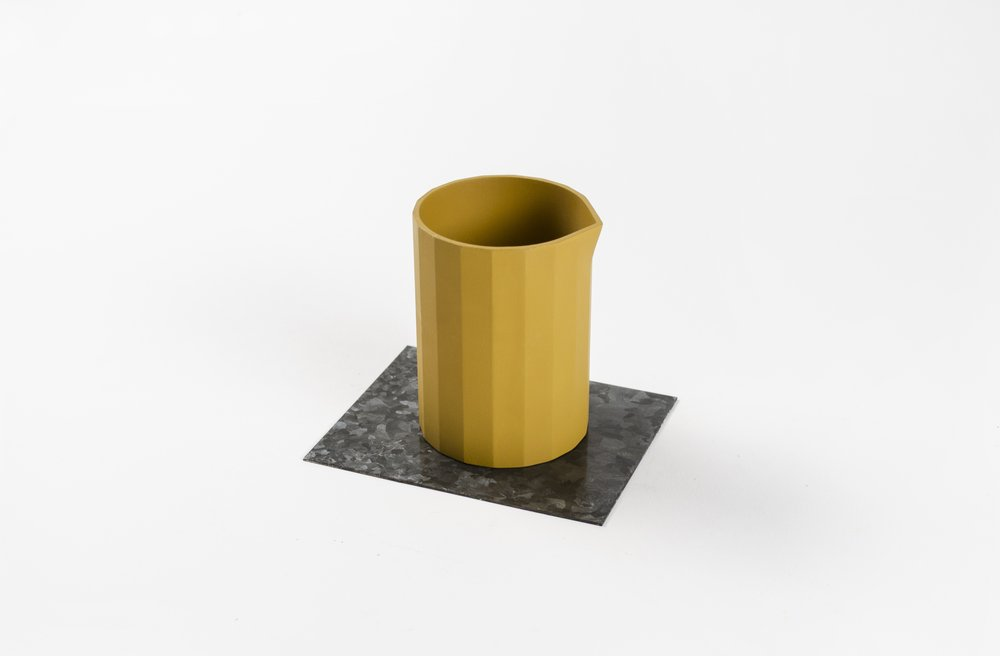 Cup Prototype with Galvanization Experiment