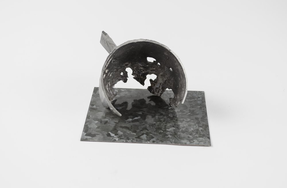 Failed Iron Cast with Galvanization Experiment