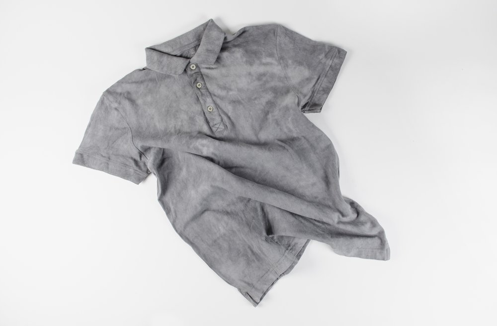 T-Shirt Dyed with Particulate Matter