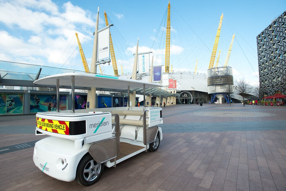 Driverless car trials in the Royal Borough of Greenwich