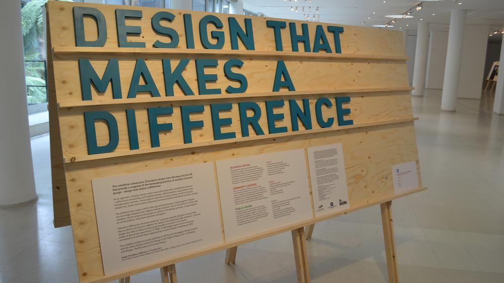 Design That Makes a Difference Exhibition at the RCA, London in April 2013