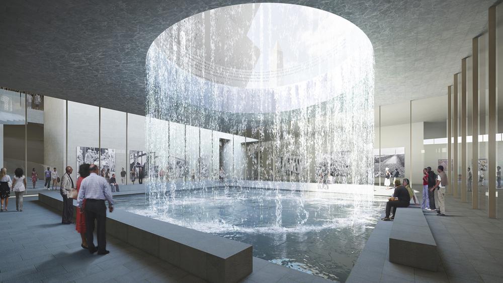 David Adjaye Smithsonian Interior