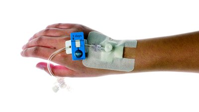 Design Bugs Out: Cannula with Self-timing Indicator