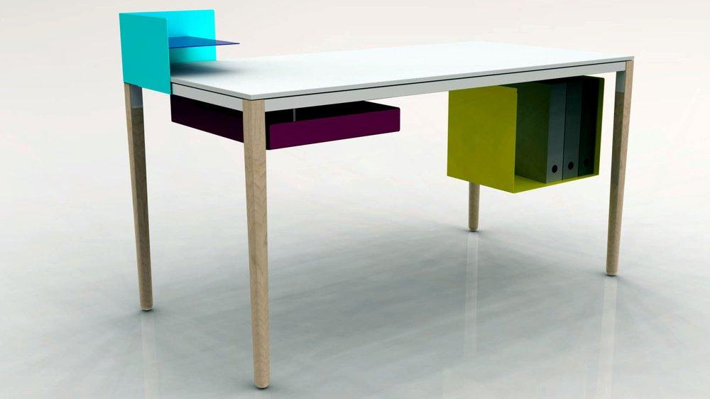 'Desk System' - Felix De Pass