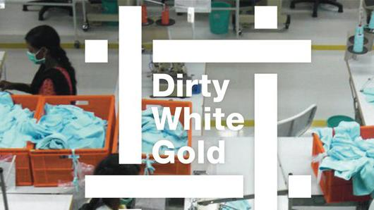 Title Graphics for The Cotton Film: Dirty White Gold, Jonathan Barnbrook