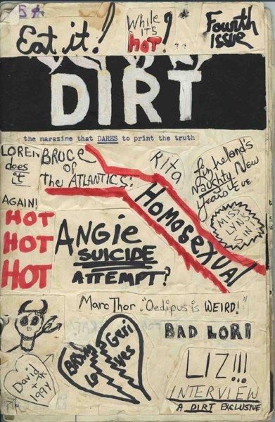 The Dirt zine collage, Mark Morrisroe