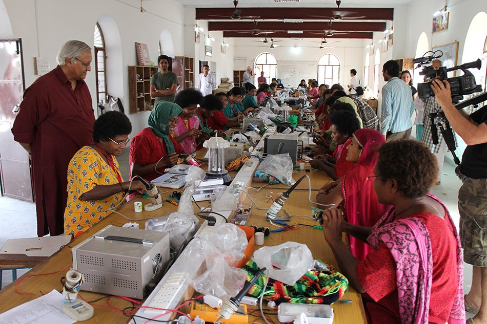 EMPACT, Interview with Bunker Roy, Barefoot College, 2014